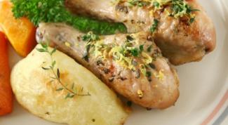 Как приготовить курицу по-итальянски