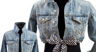 How to update denim jacket