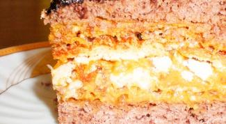 Как приготовить медовый торт со сгущенкой