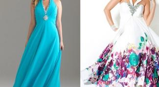 Платья для полных к выпускному балу