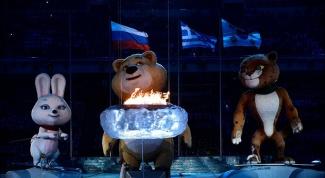 Церемония закрытия XXII Олимпийских игр в Сочи