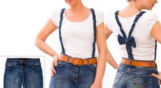 Как сшить модный сарафан из старых джинсов