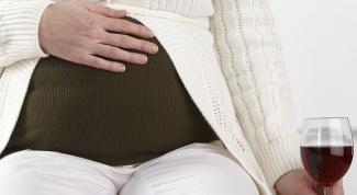 Можно ли алкоголь беременным