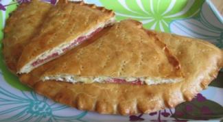 Торт из сладкого перца и сыра с салями