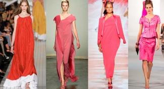 Какой цвет в моде весной 2014 года