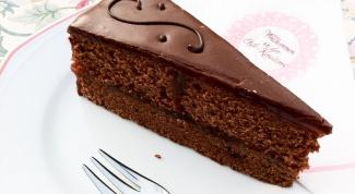 Как приготовить торт Захер