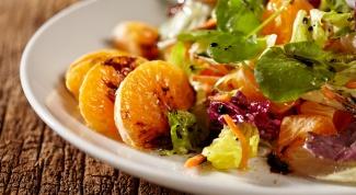 Как приготовить салат-танжерин