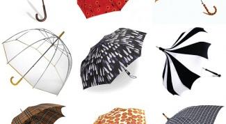 Как выбрать необычный зонт