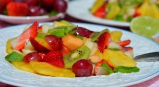 Самый вкусный фруктовый салат