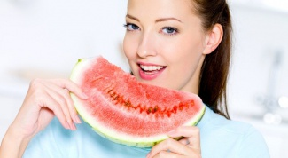 The watermelon and can eat a lot?