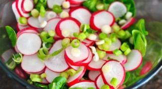 Какой самый вкусный салат из редиски