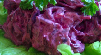 Рецепты вкусных салатов из вареной свеклы