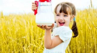 С какого возраста ребенку можно давать магазинное молоко