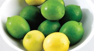 Чем отличается лимон от лайма