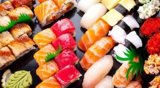 Чем суши отличаются от роллов