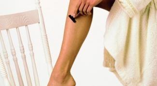 Как правильно брить ноги станком