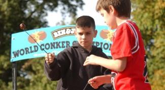 В какие игры играют дети в Англии?