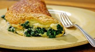 Как приготовить вкусный омлет с сыром