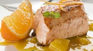 Рецепт апельсинового соуса к лососю