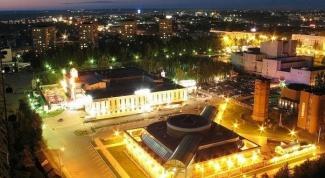 Where is the city of Izhevsk