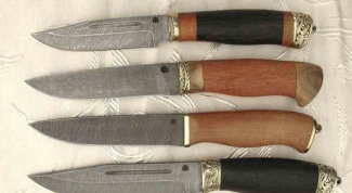 Где купить нож из дамасской стали