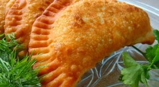 Как правильно готовить чебуреки с сыром