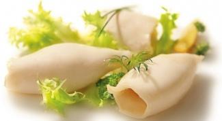 Сколько времени нужно варить кальмары на салат