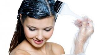 Окраска волос: на влажные волосы или сухие?