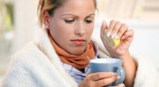 Как при простуде устранить сухость горла