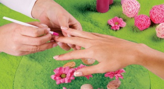 Than degrease the nail surface