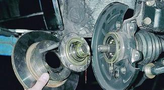 Как снять ступицу от поворотного кулака на ВАЗ 2109