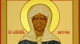 Where is the icon of St. Matrona