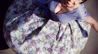 Как сшить платье в стиле 50-х годов