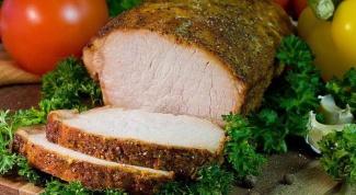 Что такое свиной карбонад