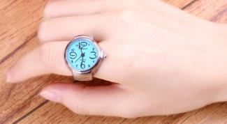 Где купить часы-кольцо