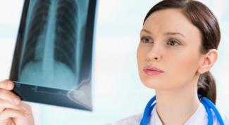 What is right lower lobe pneumonia