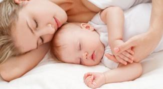 Как уложить малыша спать