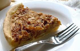 Луковый пирог с перцем