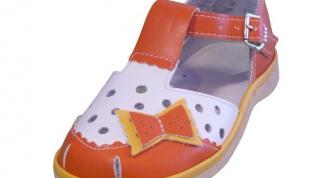 Как выбрать летнюю обувь для ребенка