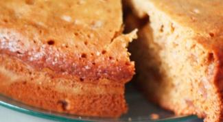 Как сделать кекс в мультиварке