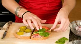 Бутербродная диета