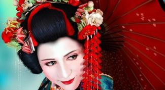 Биракан канзаши - музыкальное украшение гейши