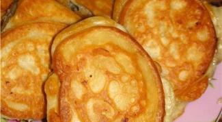 How to cook pancakes on yogurt