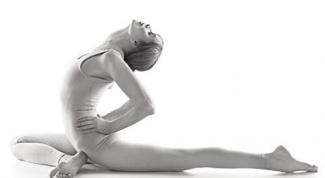 Через йогу - к красивой осанке