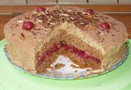 Как приготовить братиславский бисквитный торт