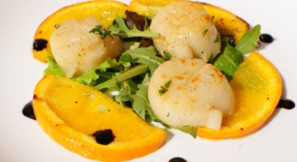 Как приготовить мильфей из морских гребешков с апельсинами