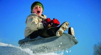 5 правил выбора санок для ребенка