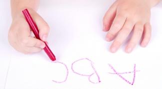 Как подготовить руку ребенка к письму?