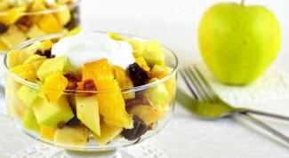 Как приготовить салат из фиников и мандаринов