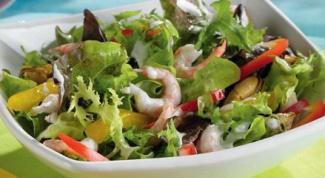 Рецепт острого салата с морскими гадами